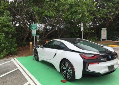 SemaConnect smart EV charging station in Florida