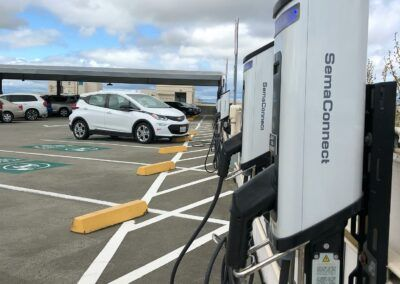 SemaConnect smart EV charging stations at Kaiser Permanente in California