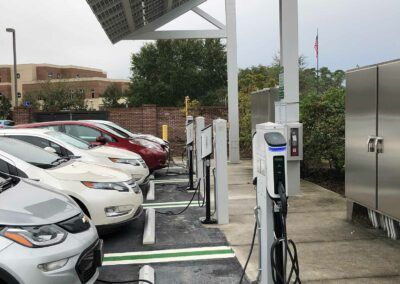 SemaConnect smart EV charging stations at the University of Central Florida