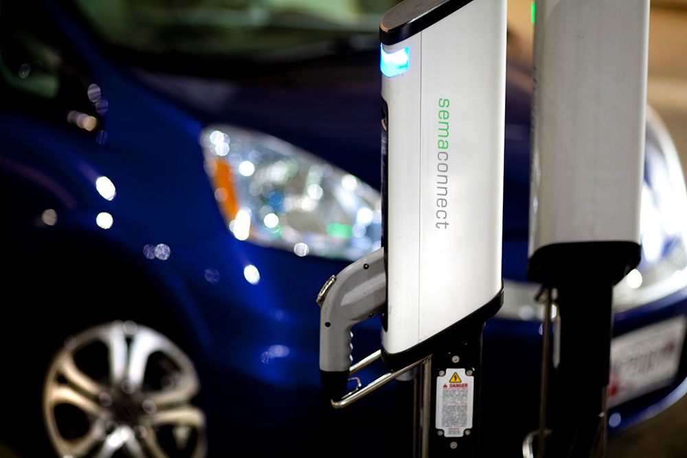 SemaConnect smart EV charging stations