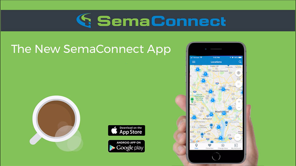 New SemaConnect App Energizes Electric Vehicle Drivers in North America