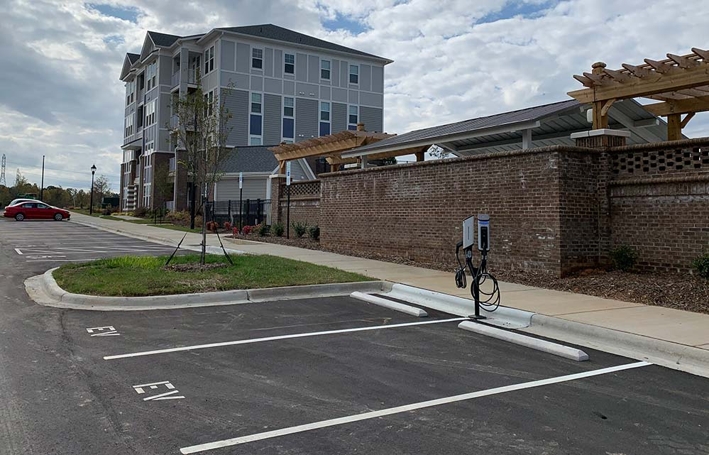 Riverbend Apartments Prioritizes High Tech Living  with SemaConnect Smart EV Charging Stations for Residents