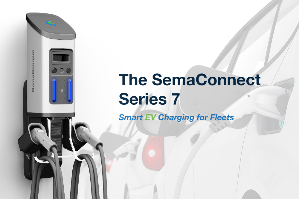 SemaConnect Launches a New Solution for Electric Fleets